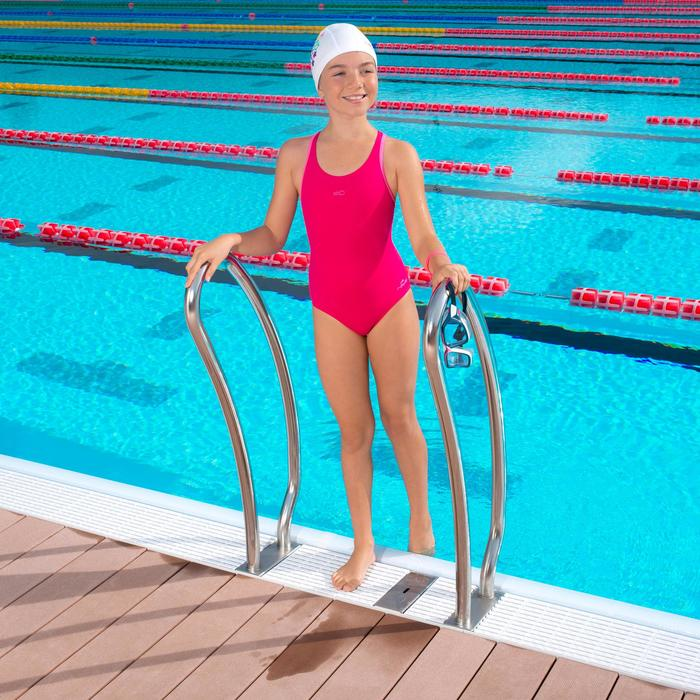 Maillot de bain de natation fille une pièce Leony + - 1005339