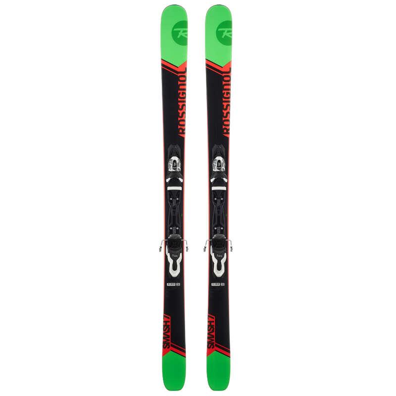 PÁNSKÉ LYŽE NA FREERIDE Lyžování a snowboarding - FREERIDOVÉ LYŽE SMASH 7 ROSSIGNOL - Lyžařské vybavení