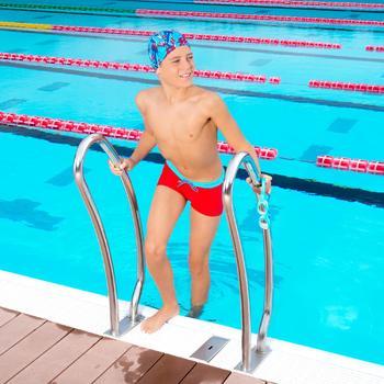 泳鏡100 EASYDOW,S號 - 藍色