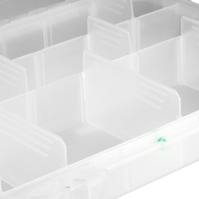 Caja estanca pesca con señuelos XL