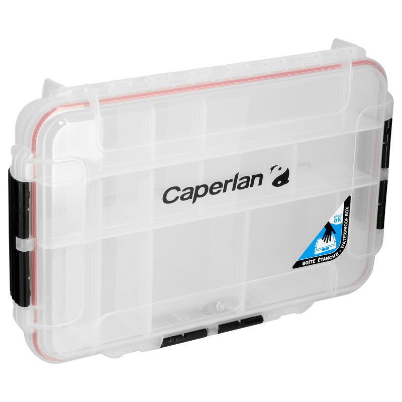 กล่องใส่เหยื่อปลอมกันน้ำสำหรับตกปลา ขนาด: XL