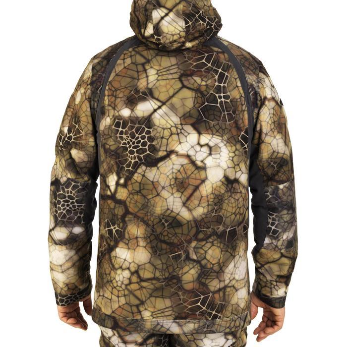 Veste chasse actikam 500 imperméable camouflage furtiv - 1005622