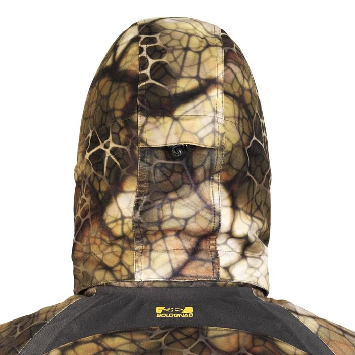 Veste chasse actikam 500 imperméable camouflage furtiv - 1005624