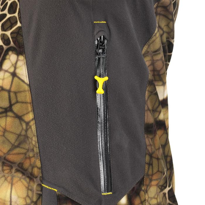 Veste chasse actikam 500 imperméable camouflage furtiv - 1005625