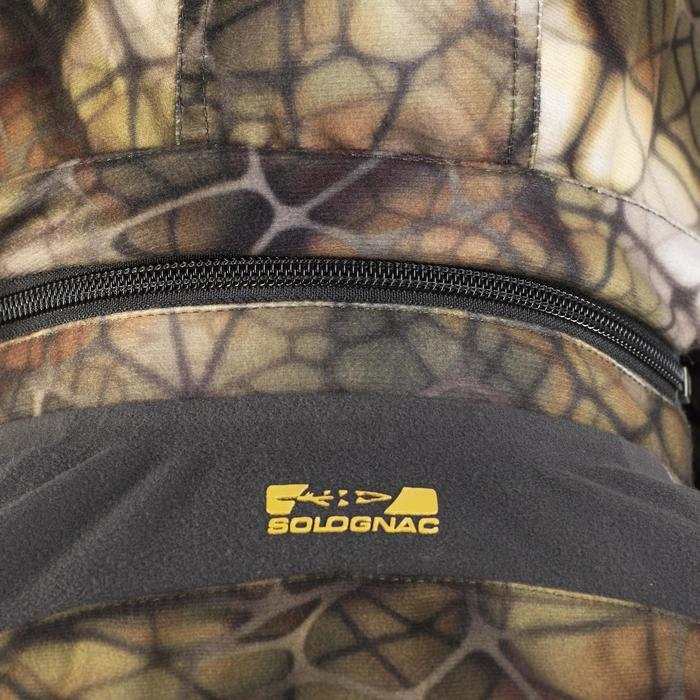 Veste chasse actikam 500 imperméable camouflage furtiv - 1005631