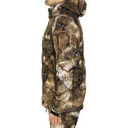 Waterdichte jas Actikam 500 camouflage Furtiv - 1005635