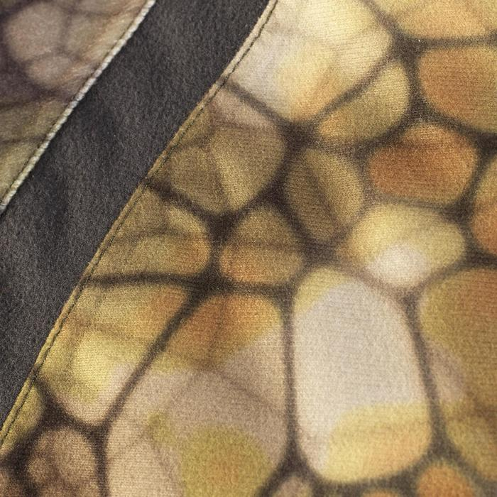 Veste chasse actikam 500 imperméable camouflage furtiv - 1005641