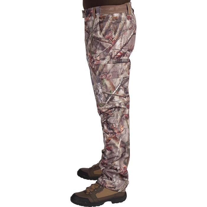 Warme en waterdichte camouflagebroek voor de jacht 500 bruin