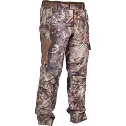 Jagd-Regenhose warm 500 camouflage braun