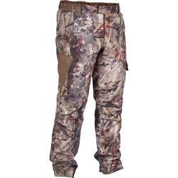 Warme en waterdichte jagersbroek camouflage bruin500