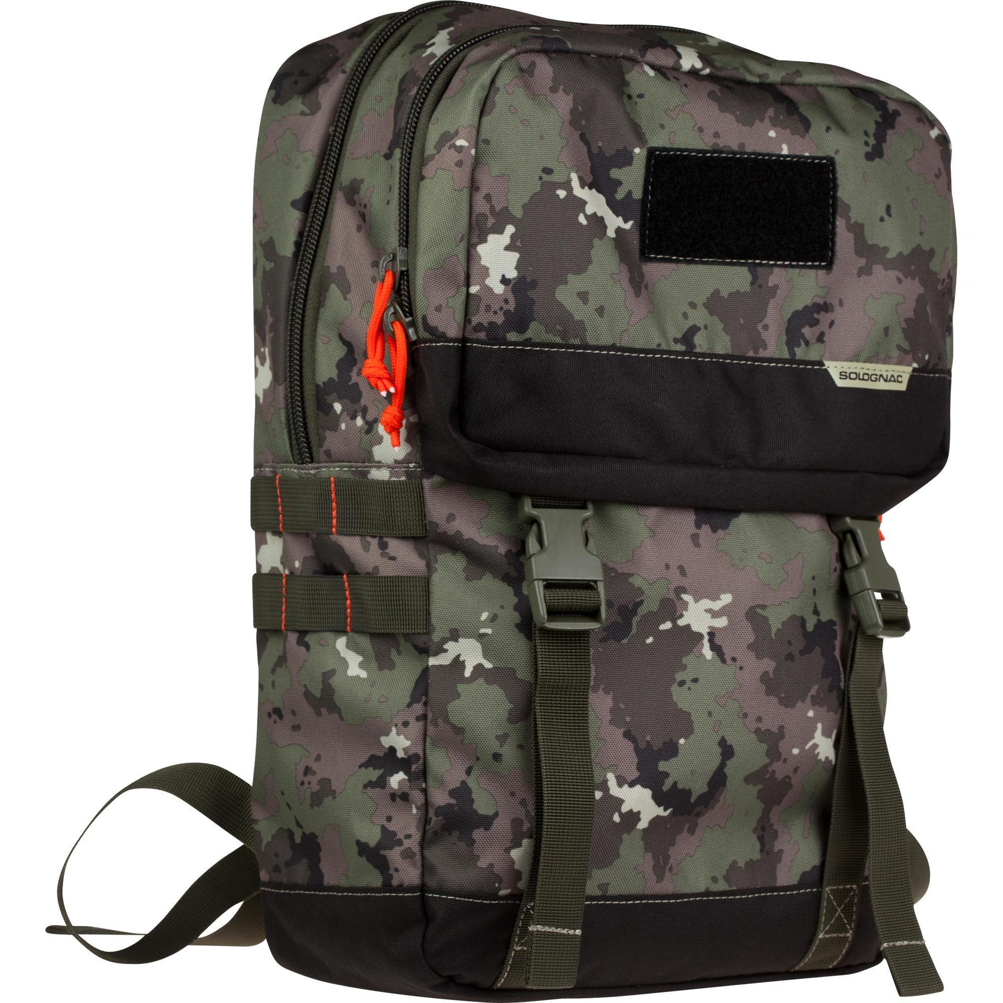 dcbe20d72f X-ACCESS BACKPACK 20 LITRES CAMOUFLAGE ISLAND GREEN