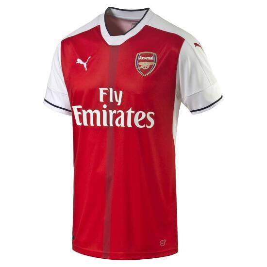 Voetbalshirt Arsenal thuisshirt voor volwassenen rood - 1005730