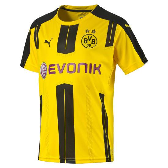 Voetbalshirt Borussia Dortmund thuisshirt voor kinderen geel - 1005818