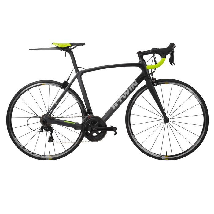 GARDE-BOUE de selle VELO ROUTE FLASH noir - 1005828