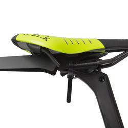 Flash Road Bike Saddle Fender - Black