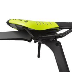 Sattel-Schutzblech Mudguard Flash Rennrad schwarz
