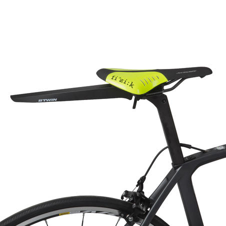 GARDE-BOUE DE SELLE VÉLO ROUTE FLASH noir