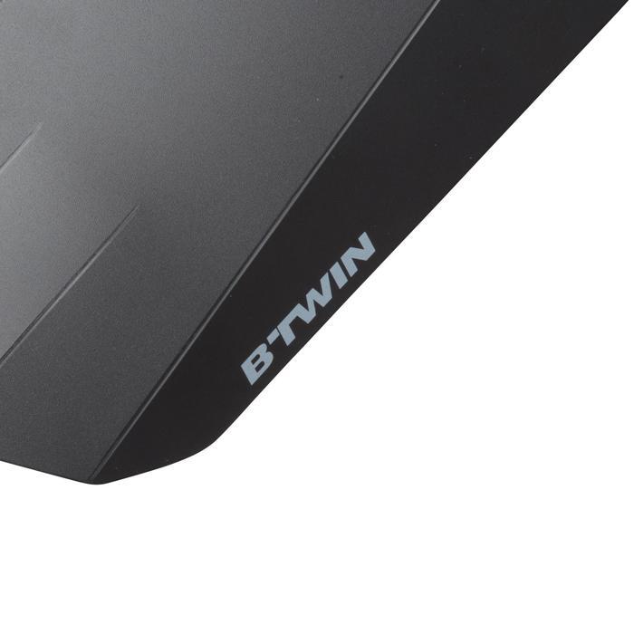 Hinterrad-Schutzblech Flash MTB, schwarz