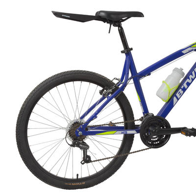 Flash Rear Mountain Bike Mudguard - Black