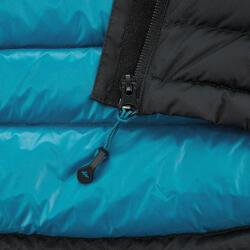 男款登山健行無袖羽絨背心Trek 900-黑色