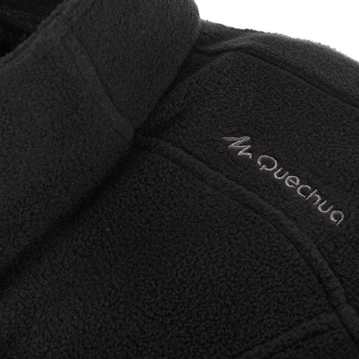 Fleece heren bodywarmer voor bergwandelen MH120 zwart