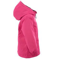 Warme en waterdichte meisjesjas voor trekking Hike 100 - 1006190