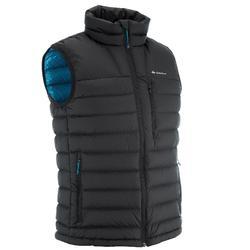 X-Warm 男款袖子加襯登山保暖背心 - 黑色