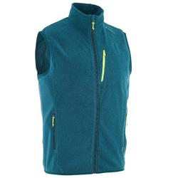 MH120 Men's Mountain Hiking Fleece Gilet - Blue