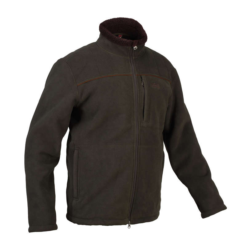 FLEECES/PADDED JACKETS Shooting and Hunting - SHERWOOD Fleece - green AIGLE - Hunting and Shooting Clothing