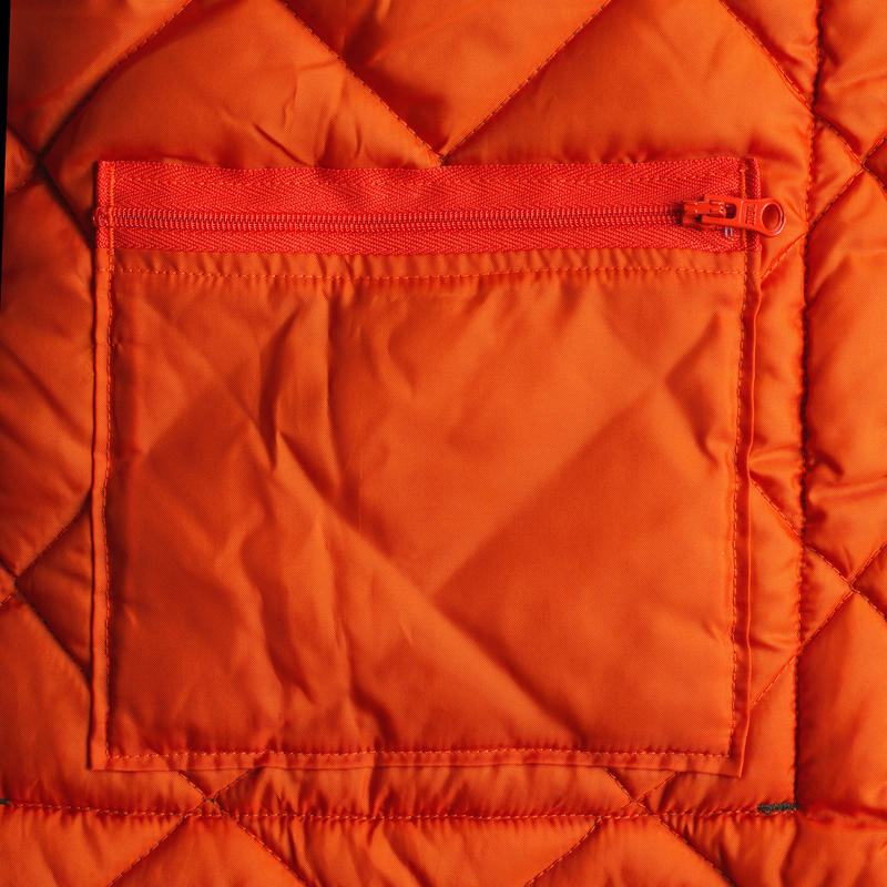100 Quilted hunting vest green