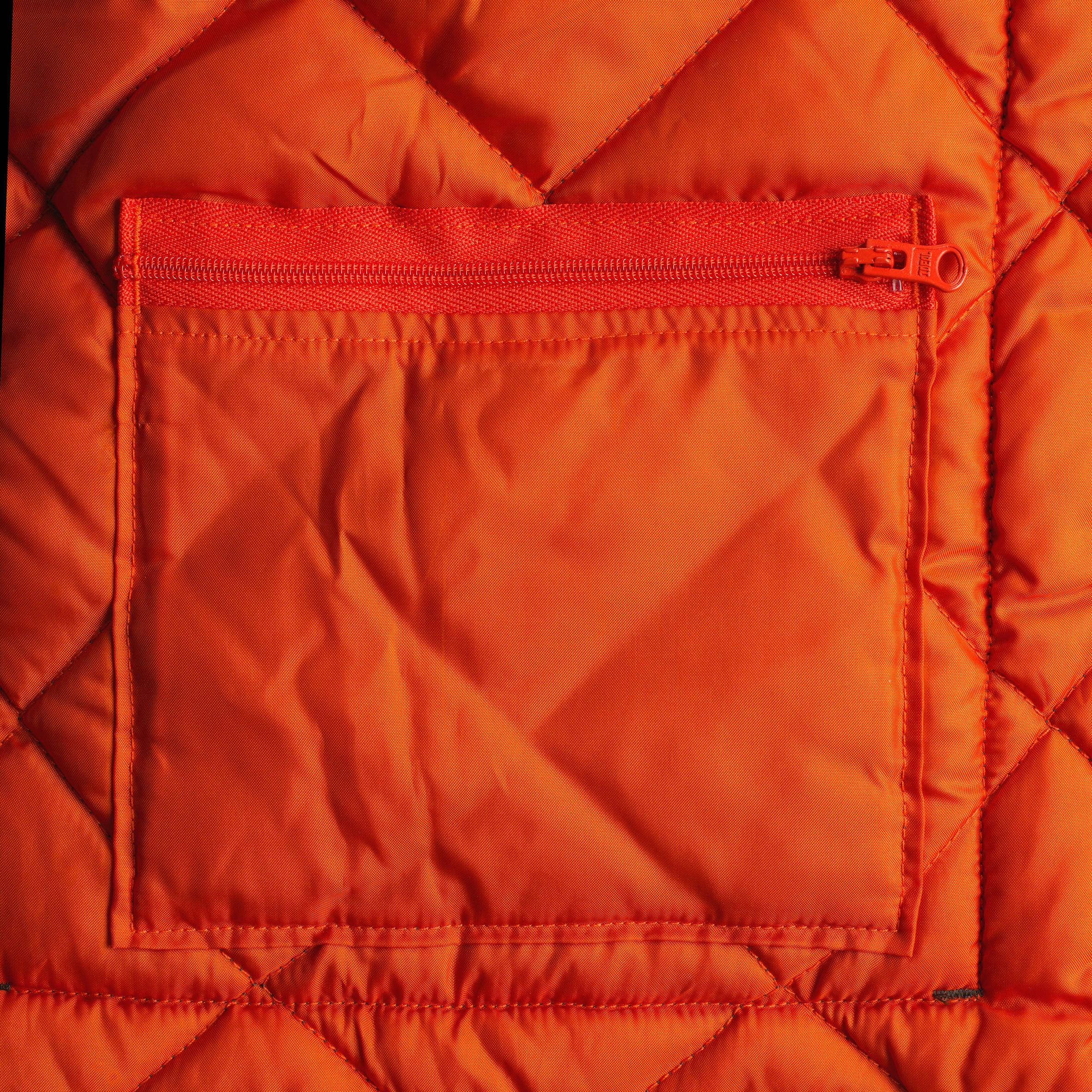 Men's Padded Sleeveless Jacket 100 Green