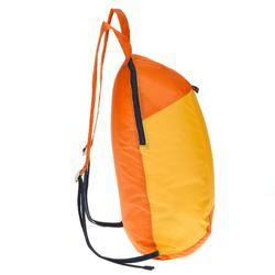 Ultra-Compact 10 litre rucksack orange