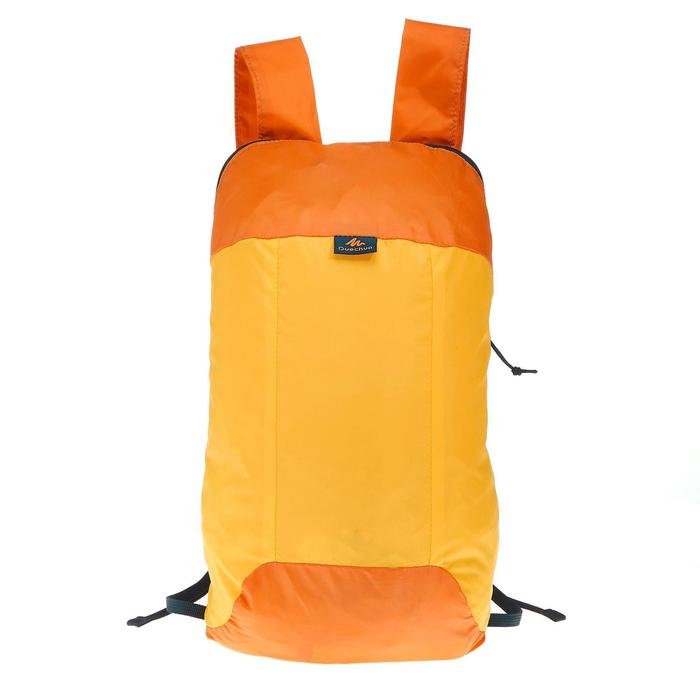 Ultra-Compact 10 litre rucksack orange