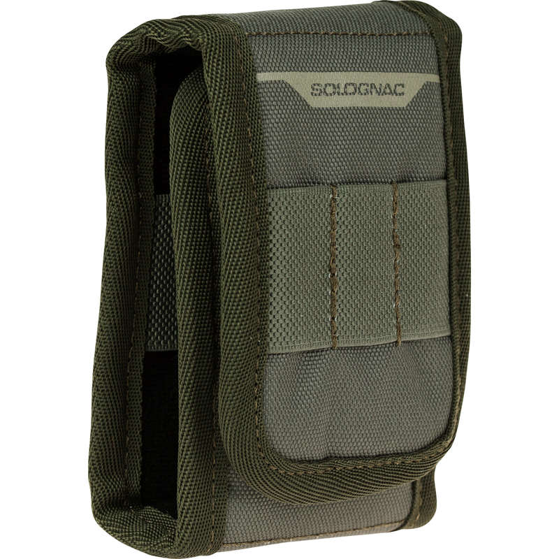 BIG GAME RIFLE/AMMO TRANSPORT Shooting and Hunting - X-ACCESS 9 BULLET POUCH SOLOGNAC - Hunting Types