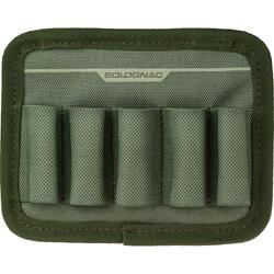 Cartuchera Caza Solognac X-Access 5 cartuchos Calibre 12 Verde