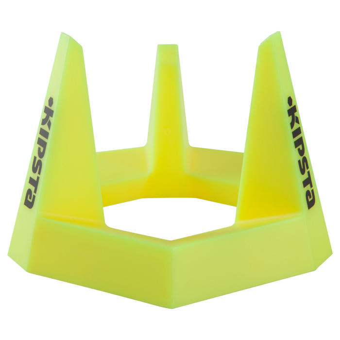 Tee rugby R100 amarillo