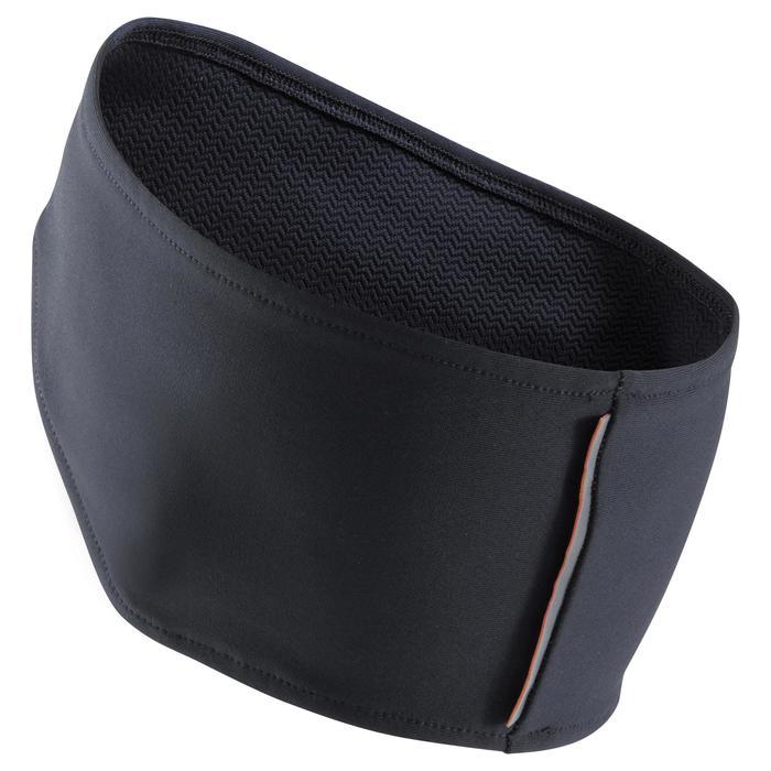 Warme hoofdband voor hardlopen zwart