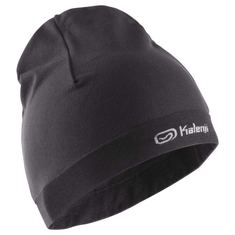 RUNNING COLD PROTECT ACCESSORIES Running - RUNNING HAT - Black KALENJI - Running Clothing