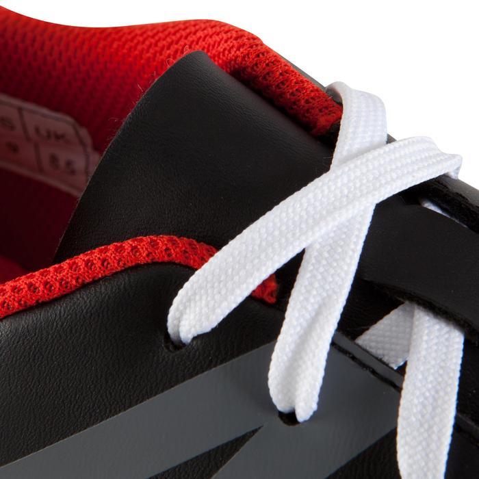 Chaussure de football adulte terrains durs First 100 HG noire rouge blanc - 1007517