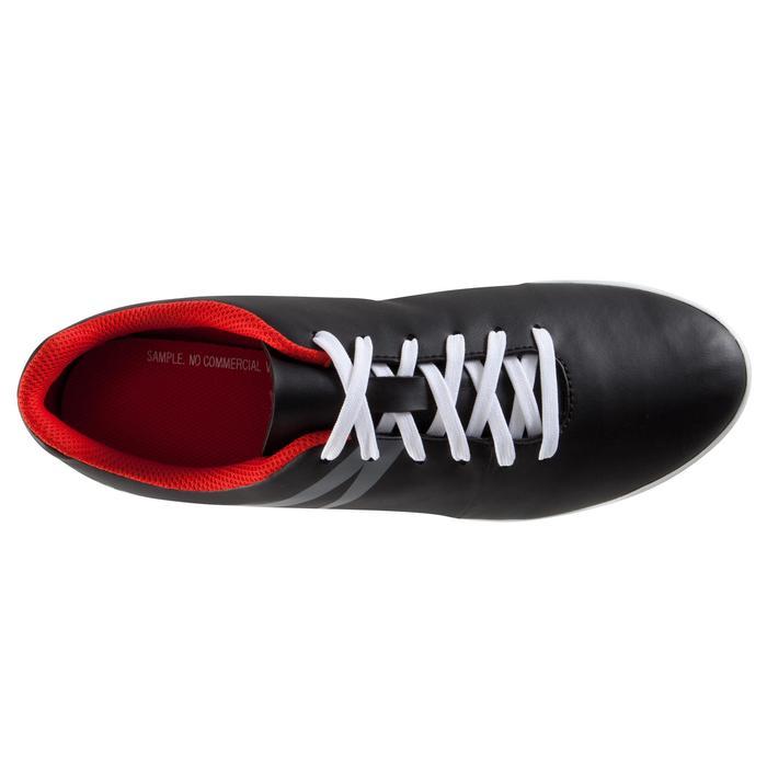 Chaussure de football adulte terrains durs First 100 HG noire rouge blanc - 1007519