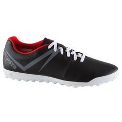 Voetbalschoenen Agility 100 HG, volwassenen, zwart