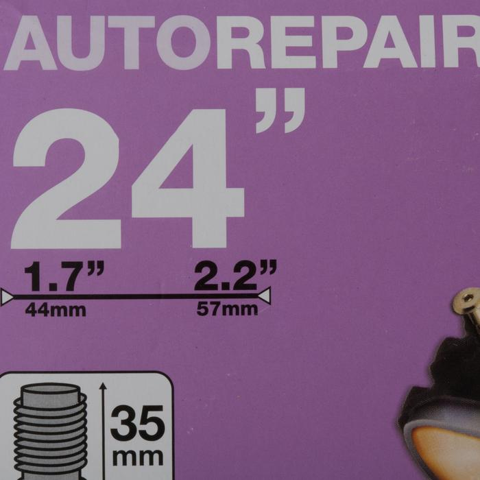"CHAMBRE A AIR 24"" SCHRADER AUTOREPARANTE"