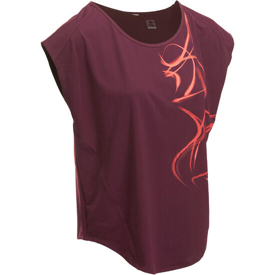T-shirt fitness Energy loose dames - 1007720