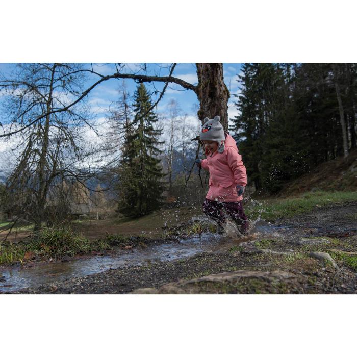 SH100 Warm Junior Snow Hiking Jacket - Pink