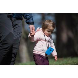 Polaire de randonnée warm enfant SH500 rose 2-6 ans