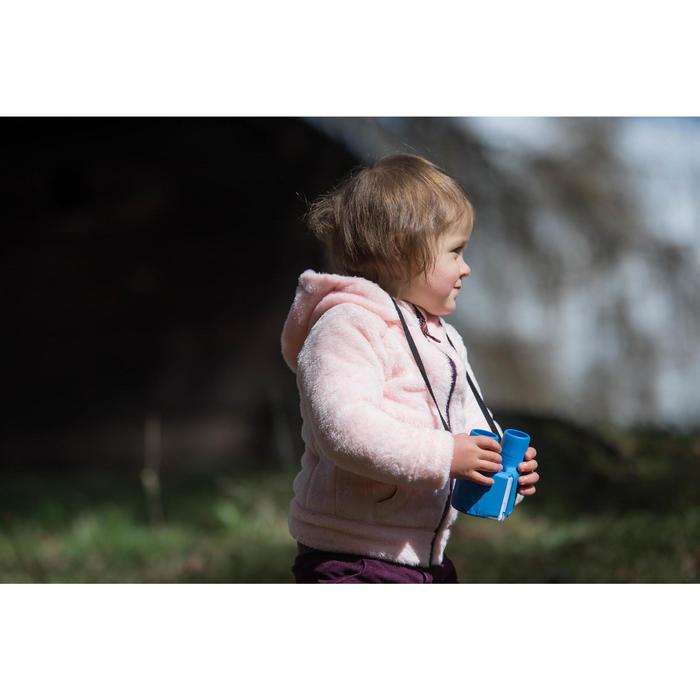 Polaire de randonnée warm enfant SH500 verte 2-6 ans