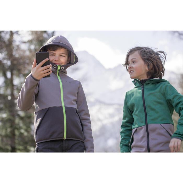 Veste polaire de randonnée Garçon HIKE 550 - 1007973