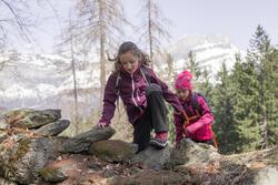 Trekkingschoenen Forclaz 100 Warm Waterdicht Kinderen - 1007990
