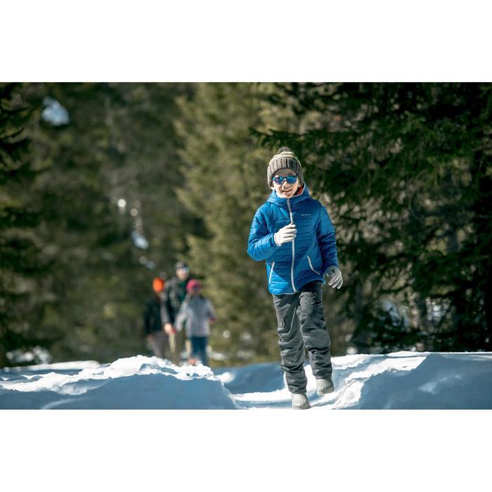Schneestiefel SH100 Warm Kinder Gr. 26-37 blau
