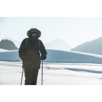 Parka trekking Arpenaz 1000 RainDown homme noir - 1008089
